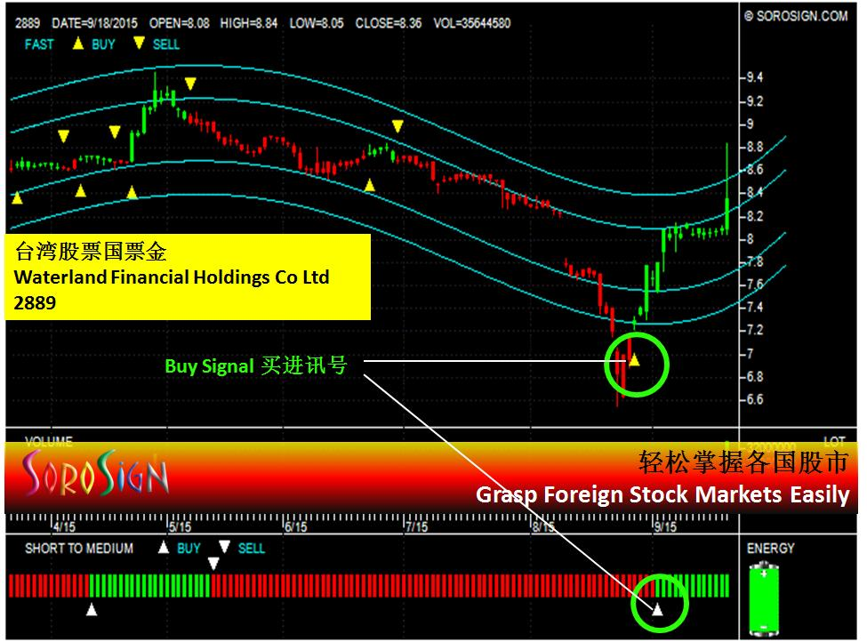 Taiwan Stock Waterland Financial Holdings Co Ltd  2889